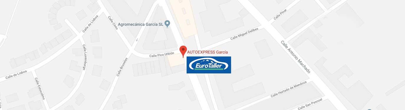 MAPS-AUTOEXPRESS-GARCIA-EUROTALLER-ALMAZAN